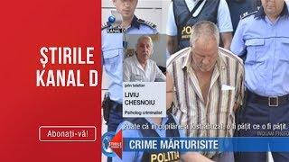Stirile Kanal D (29.07.) - Gheorghe Dinca a marturisit crimele! Ce detalii socante s-au descoperit