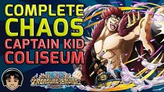 Walkthrough for the Complete Chaos Eustass Kid Coliseum [One Piece Treasure Cruise]