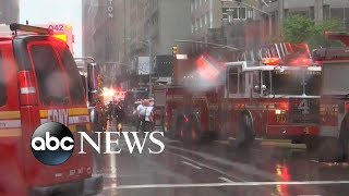 1 dead after helicopter crashes into NYC building