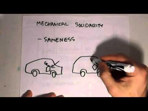 durkheim mechanical solidarity