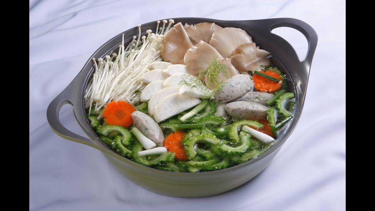 Cách nấu LẨU CÁ THÁC LÁC KHỔ QUA ngon lạ | MÓN NGON MỖI NGÀY