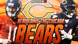 Madden 18 Connected Franchise | Rebuilding The Chicago Bears | Mitchell Trubisky Named The Starter!