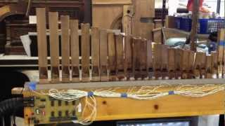 "Wurlitzer Style 157 Band Organ Flute pipes Play the ""Cuckoo Waltz"""