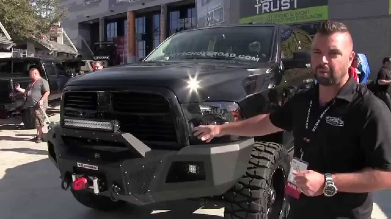2015 Ram 2500 >> Go Rhino Bumpers featured on Grizzly Coolers Doetsch Off ...