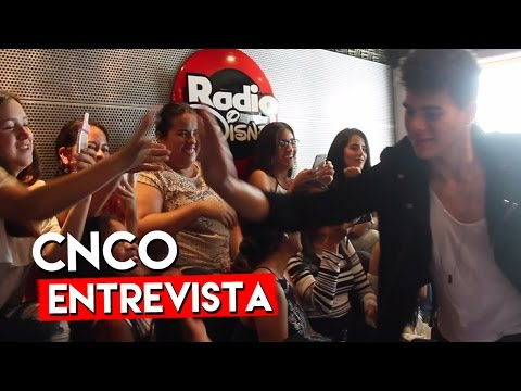 CNCO en Radio Disney Ecuador - M&G  / RadioDisneyLA
