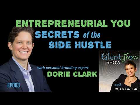 Ep063: Entrepreneurial You—secrets of the side hustle with personal branding expert Dorie Clark
