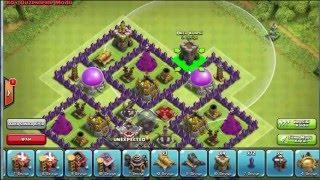 Clash Of Clans 9. Seviye Köy Binası Ganimet Düzeni (Farming)