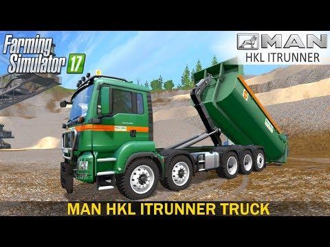 Farming Simulator 17 MAN HKL ITRUNNER TRUCK