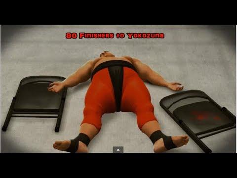 WWE 2K14   80 Finishers to Yokozuna