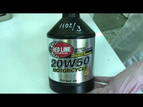 Redline 20W-50 Motorcycle приемка в лаборатории УРЦТЭиД