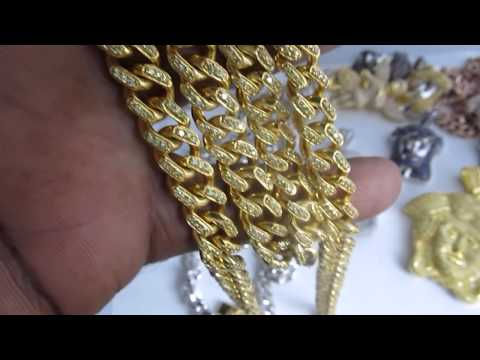 15mm Bust Down Miami Cuban Link Diamond Chain By Jain T