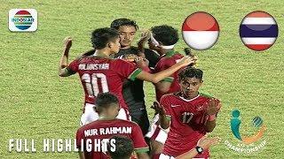 Momen Adu Pinalti Antara Indonesia vs Thailand | AFF U-16 Championship 2018