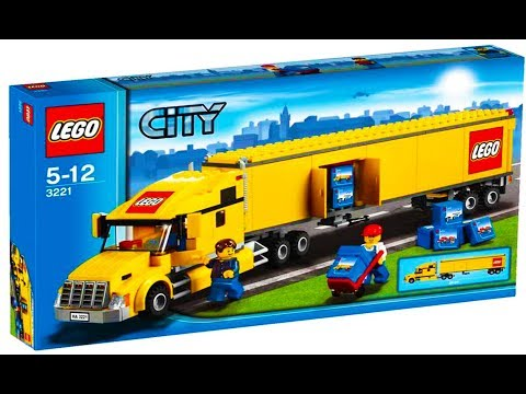 Lego City 3221 Truck - Lego Stop Motion