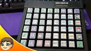 Tour of My 48-Key Fully-Programmed Adobe CC Macro Keypad // Genovation ControlPad CP48 Follow-Up
