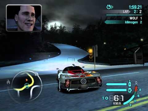 Pagani Zonda F VS DB9 boos need for speed CARBON NFS