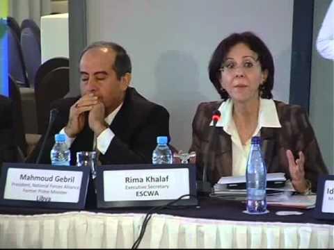 Moderator: Rima Khalaf, Executive Secretary, ESCWA