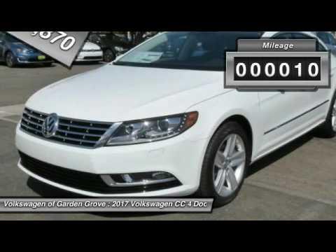 2017 Volkswagen CC Garden Grove CA HE501476 YouTube