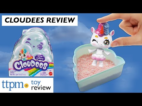 Watch Us Unbox The New Collectible Toy Cloudees From Mattel
