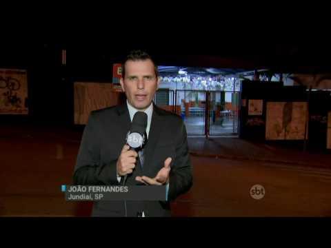 SBT Brasil (01/07/16) Homem armado invade escola e mata ex-mulher no interior de São Paulo
