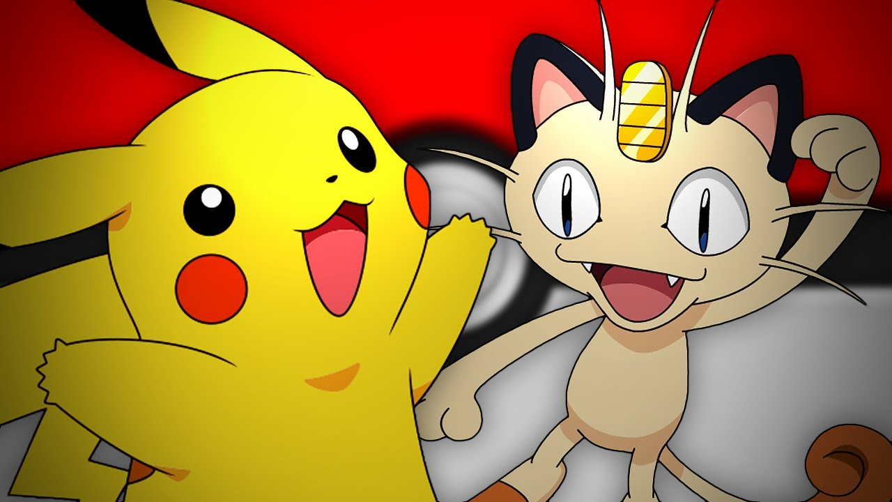Cute Pikachu And Ash Wallpaper Pikachu Vs Meowth Epic Rap Battles Of Pok 233 Mon 13 Youtube