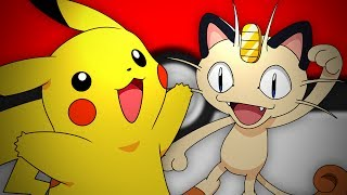 Pikachu vs Meowth. Epic Rap Battles of Pokémon #13.