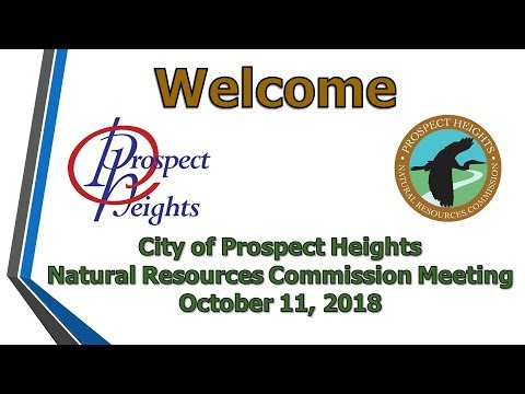 October 11, 2018 Natural Resources Commission