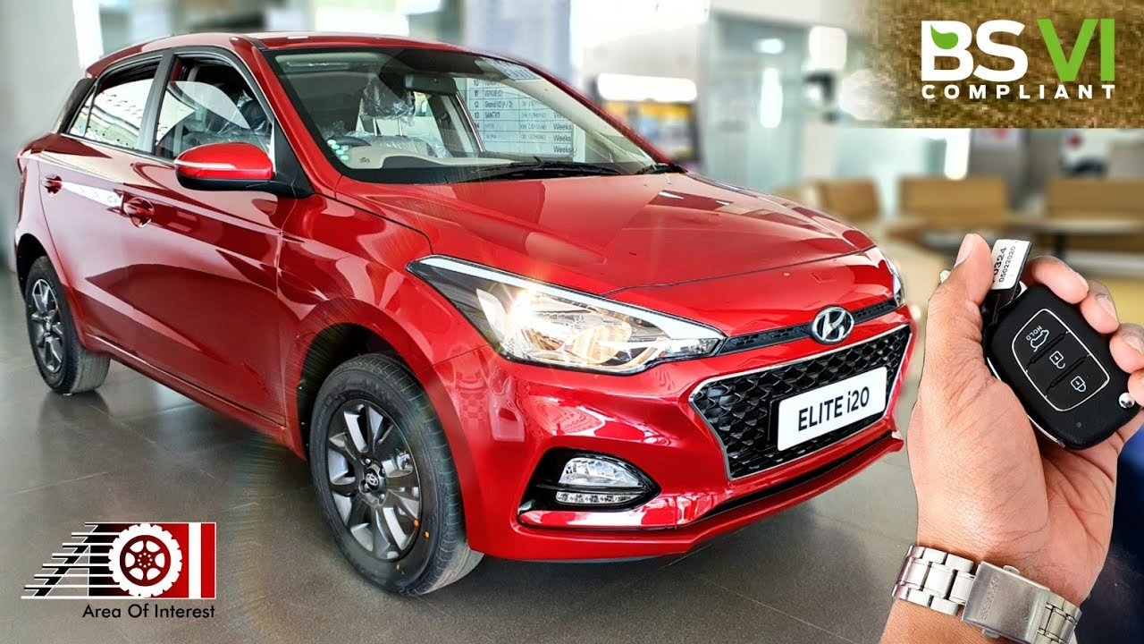 2020 Hyundai Elite I20 Bs6 Sportz On Road Price List 2nd Top Model Features Specs Youtube
