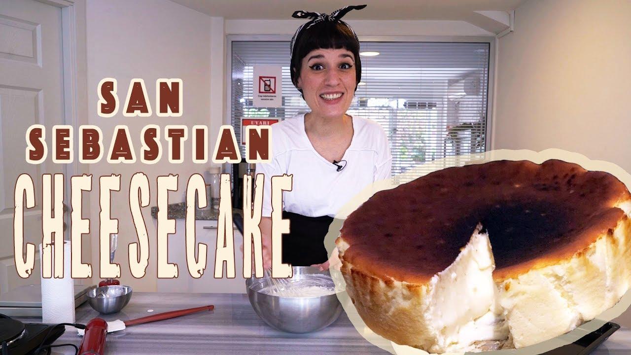 San Sebastian Cheesecake Recipe Foolproof Youtube
