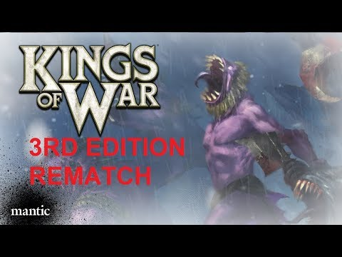 KING OF WAR 3RD EDITION ORCS VS UNDEAD REMATCH #002