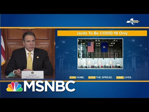 Andrew Cuomo Announces Record Increase In Deaths, Change To Javits Center | MSNBC