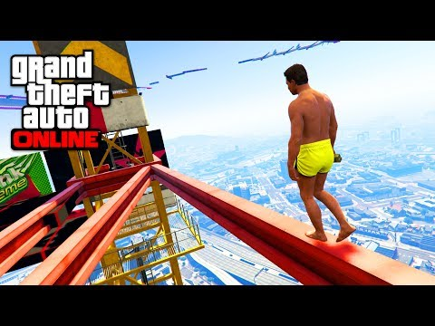 PARKOUR ULTIME TOWER - GTA 5 ONLINE