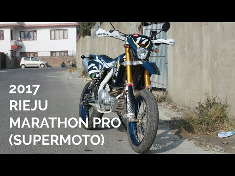 2017 Rieju Marathon Pro 185 (Supermoto) Test Ride Review