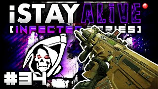 "3 INTENSE GAMES! - ""iSTAY ALiVE"" #34 (Call of Duty Ghost Infected Gameplay)"