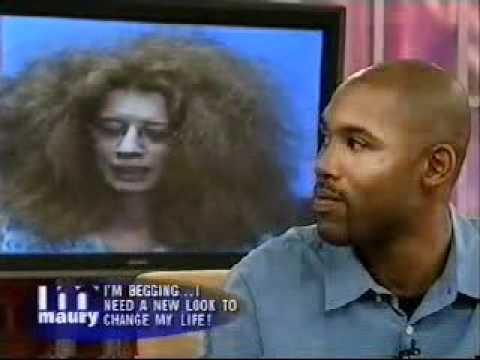 White Woman Fixes her Frizz for Black Fiancé