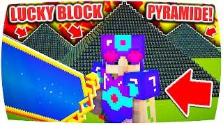 DAS KRASSESTE OP SCHWERT!! ▪ Minecraft LUCKY BLOCK PYRAMIDE CHALLENGE