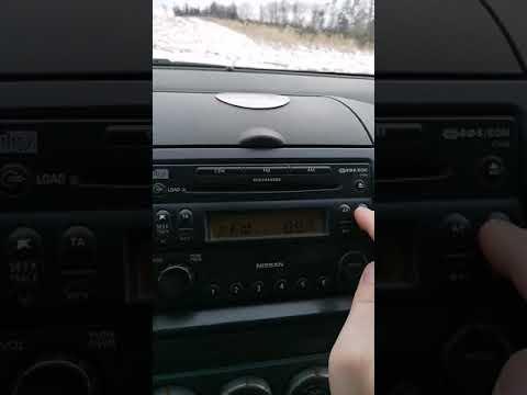 Navara D40 radio problem