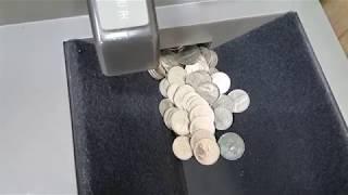 은행 동전교환기