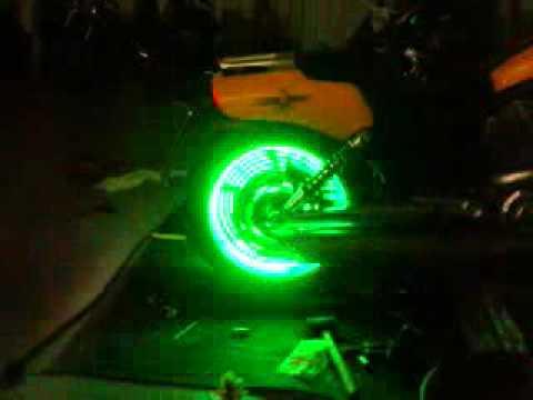 Motorcycle Wheel Lights Vrod Muscle