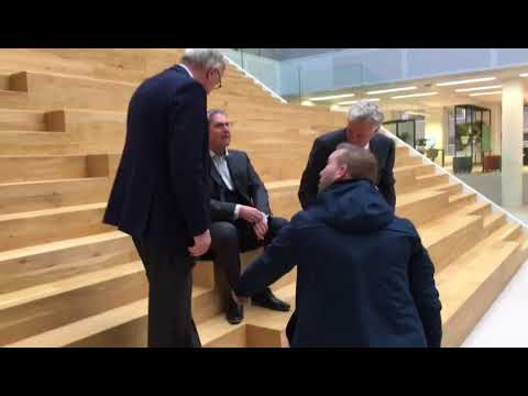 Friends in Business Bladpresentatie - Joop van Caldenborgh, Frans Lavooij en Jos van der Vegt