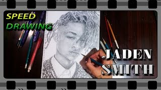 Speed Drawing JADEN SMITH / DIBUJANDO A JADEN