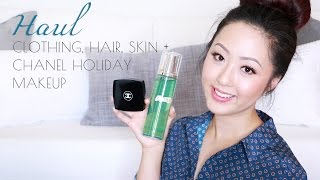 HAUL: Clothing, Hair, Skin + Chanel Holiday