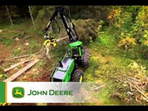 Der John Deere Harvester 1470G