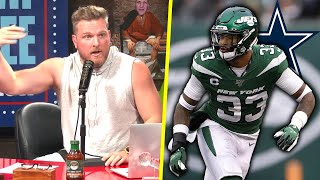 Pat McAfee Reacts To Jamal Adams Wanting To Be A Cowboy