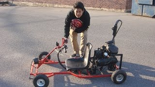 Cheap Homemade Go-kart