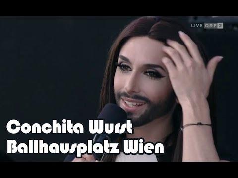 Conchita Wurst - Vienna Ballhausplatz [whole concert/Ganzes Konzert]