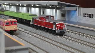 KATO Nscale トラ90000 貨物列車