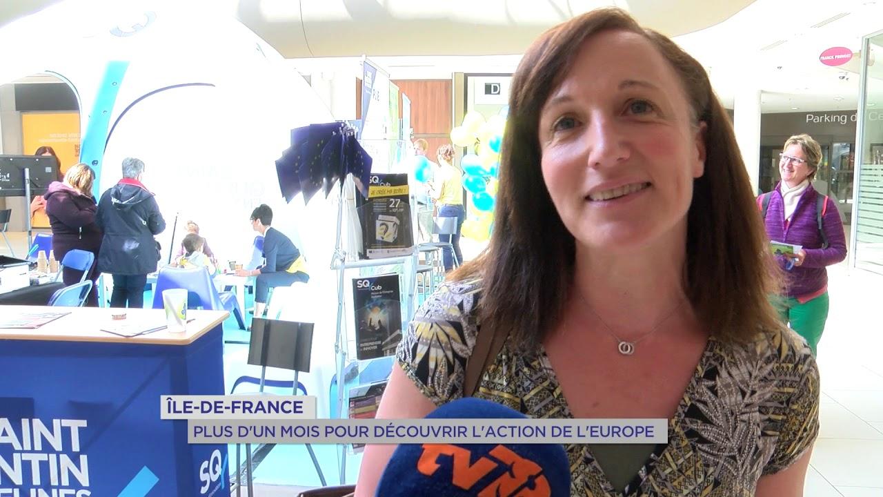Yvelines | Fonds européen : le joli mois de l'Europe en Île-de-France