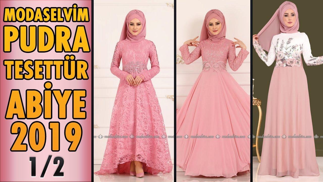 1315f2d614815 #Modaselvim #Pudra #Tesettür #Abiye #Elbise Modelleri 2019 - 1/2 | #Hijab  Evening #Dress | #powder - Ruslar.Pro