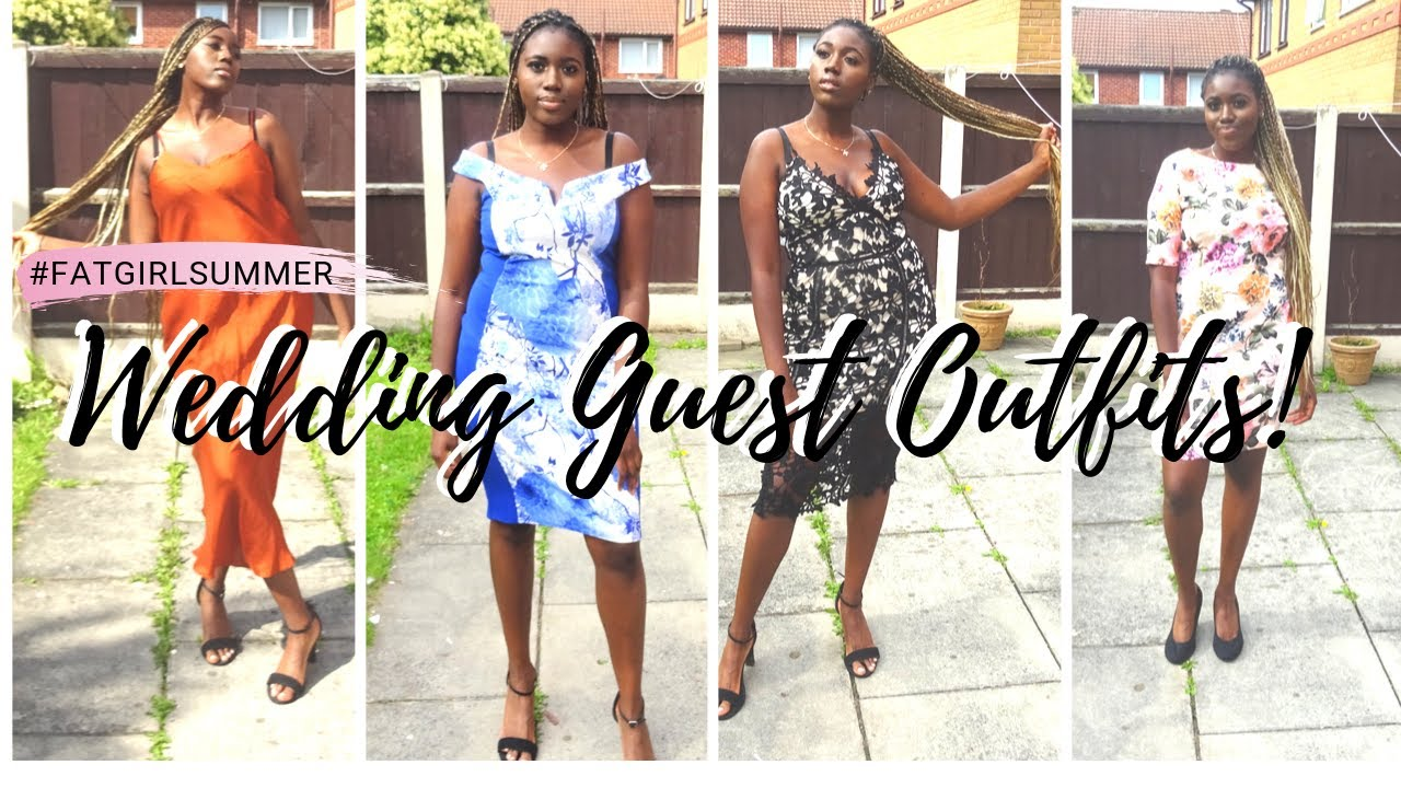 [VIDEO] - Wedding Guest Outfits after a #FAT GIRL SUMMER! HELP ME CHOOSE! 4