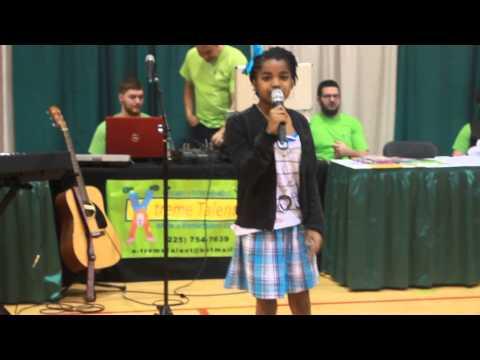 11yrold New Orleans Native Amari singing The Climb by Miley Cyrus